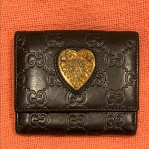 ❤️ 100% Authentic Gucci GG Black Wallet